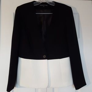 Preston and York colorblock blazer, size 8